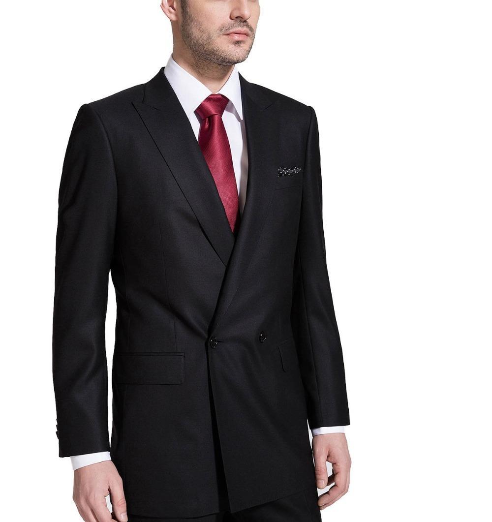 65e9a46801c349 HCF by Air Men's 2 Button Closure Collar Slim Trim Fit Formal ...