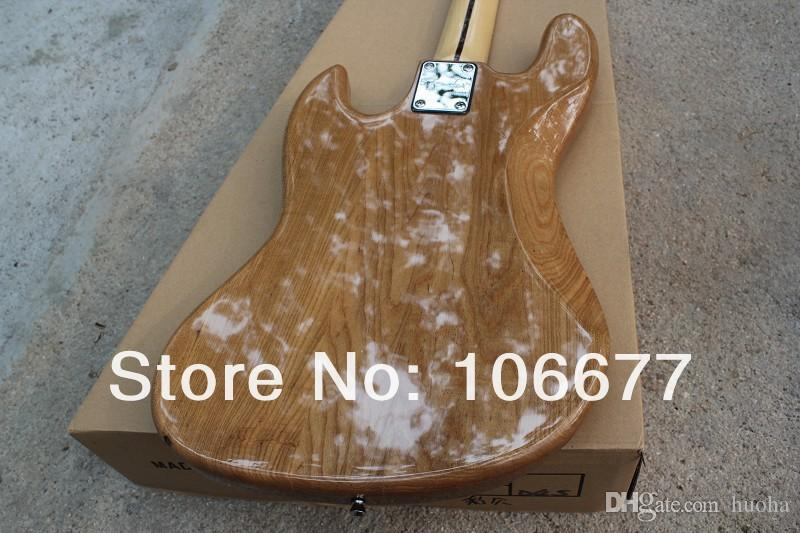 New Arrival High Quality F Vintage '75 Marcus Miller Signature Jazz Bass 4 String Natural Color Class Bass Guitar