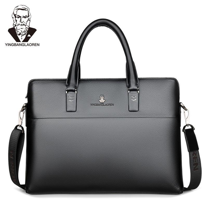 New Collection 2018 Fashion Men Bags, Men Casual Leather Messenger Bag,  High Quality Man Brand Business Bag Men S Handbag 18 Branded Handbags  Womens ... ffbc230e2d