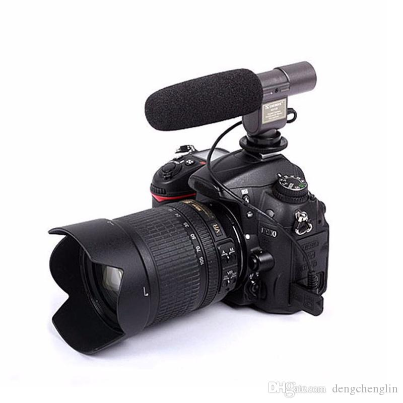 SG-108 Camera microfono Shortgun Mic Video Canon nikon DV DSLR 5D 5dII 5d3 7D 60D 50d 60d 1200d 1300 d5100