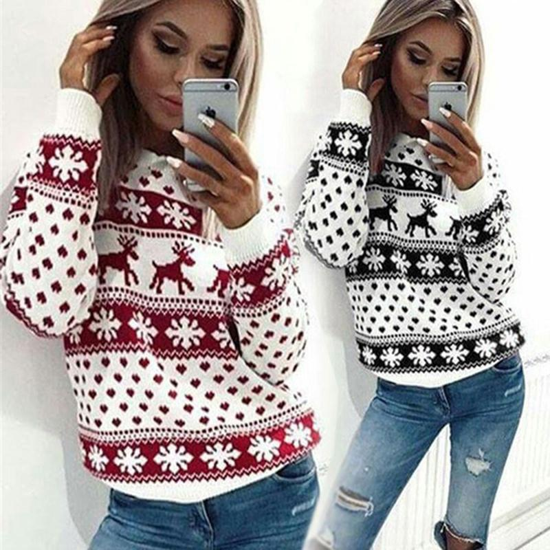 wholesale womens clothing christmas reindeer printing t shirt plus size pullover christmas tops by childdd under 16 09 dhgate com