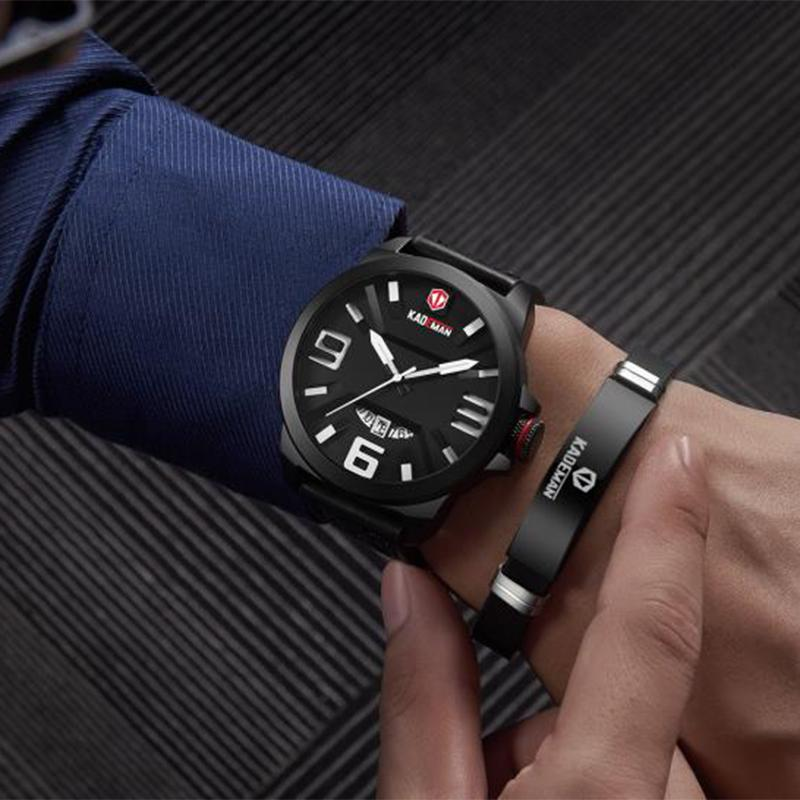 670d6625326 KADEMAN Riginal Brand Fashion Men S Watch Quartz Business Watches Men  Waterproof Wrist Watch Clock Relogio Masculino Watches Shop Online Watch  Shop From ...