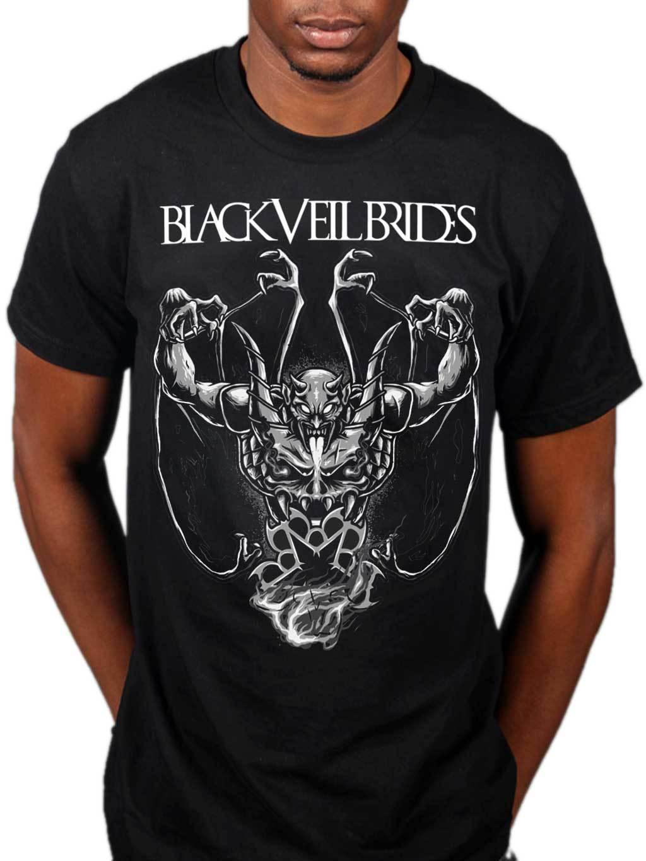 Maglietta Rises Demon Acquista Veil Ufficiale Black Brides SUVqzMp