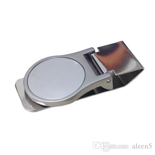 2018 NEW Hot sell mens money clips stainless steel money clip perfect for personalized gift