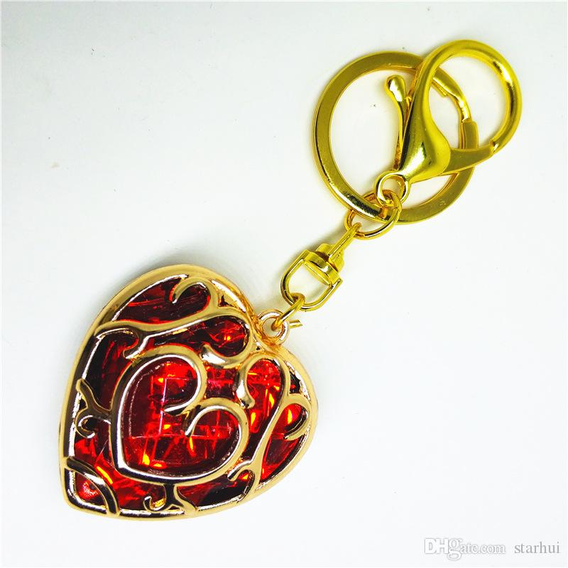 The Legend Of Zelda Sets Princess Hylian Shield Master Sword Keychain Necklace Pendants Kids Jewelry Arts Crafts Toys WX9-322