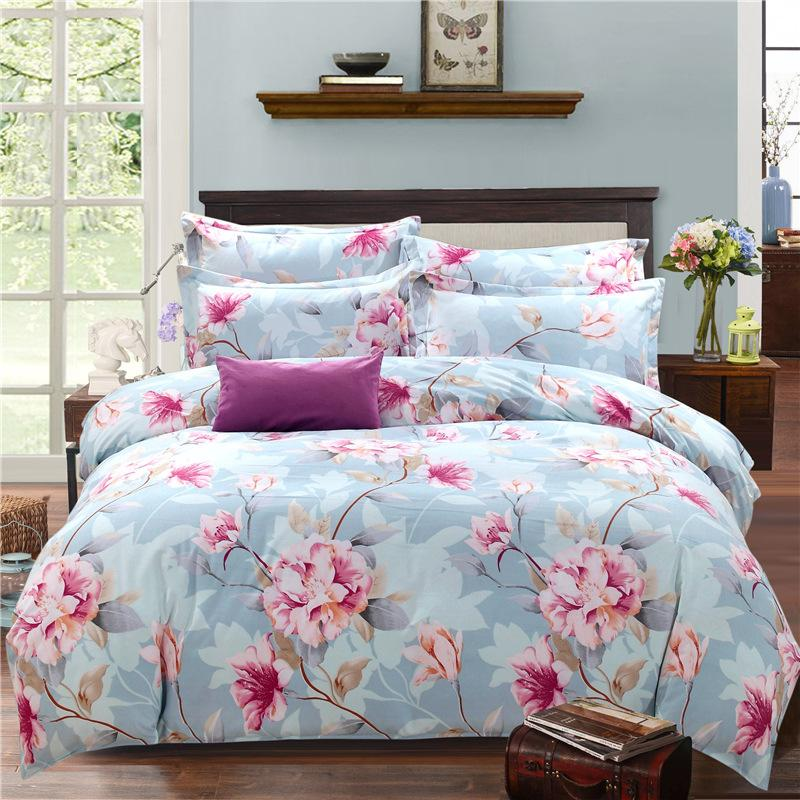 2018 New Hot 16 Types 100 Cotton Bedding Sets Full King Soft