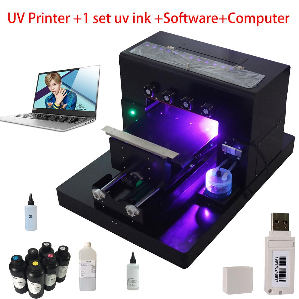quite nice df276 6df40 A3 UV Printer UV Flatbed Printer Phone Case Printing Machine for Phone  Case, T-shirt, leather,TPU case New Upgrade