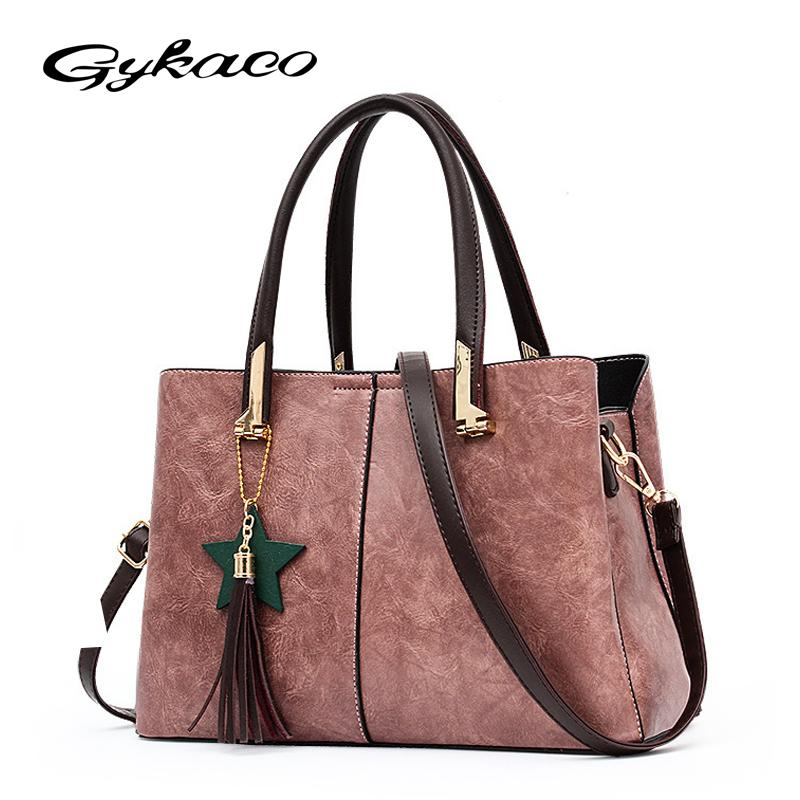 6985c48a9d Gykaeo Luxury Handbags Women Bags Designer Brand Casual Shoulder Bag Ladies  Street Tote Bags Sac A Main Femme Famous Tote Bag Purses Designer Handbags  From ...