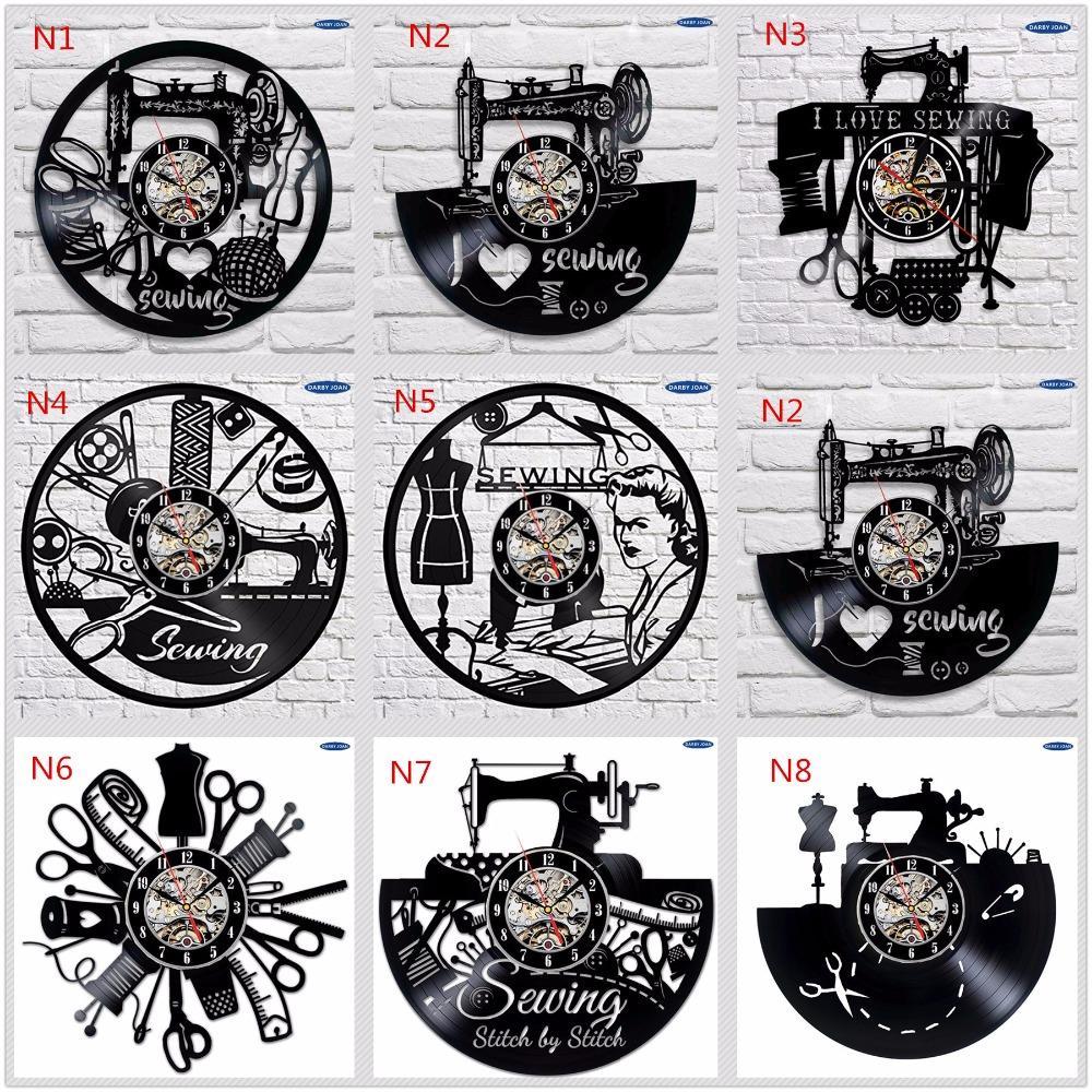 e22d43f74de Compre Relógio De Parede De Salão De Costura