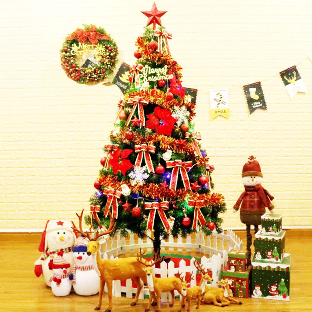 Christmas Tree Decoration Set European Style 1.5m Green Xmas Tree ...