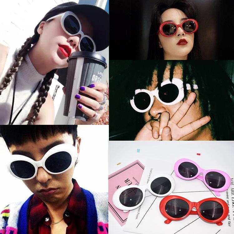 504e47858bc Goggles NIRVANA Kurt Cobain Vintage Oval Glasses Round Saint Sunglasses  Clout Glassess Unisex FFA063 Alien Sunglasses Punk Sunglasses Oval Glasses  Online ...