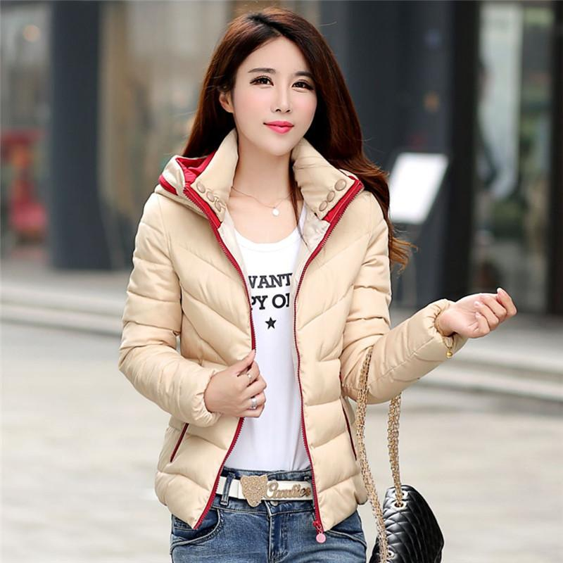 4057343b9 2018 New Autumn Winter Women Coat Fashion Female Down Jacket Women Parkas  Casual Jackets Inverno Parka Wadded Plus Size
