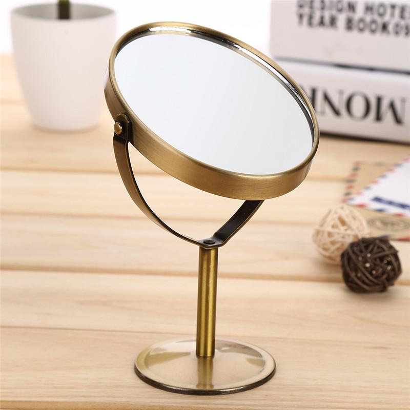 1 2 Magnifying Double Sided Makeup Mirror Desktop