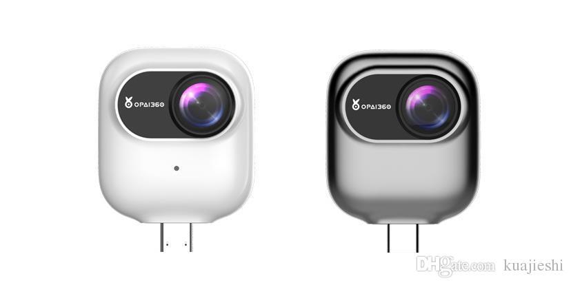 Caméra panoramique 360 degrés 4K HD à double objectif en plein air en direct 720 caméra mobile 3D. Caméra sport à usage spécial.