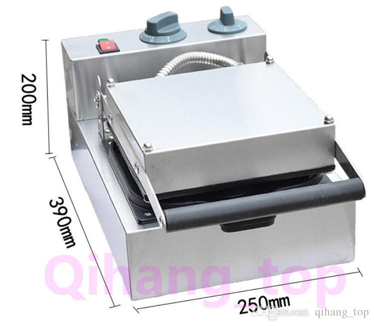 Qihang_top انخفاض الأسعار 9 ثقوب صانع دونات مصغرة الكهربائية ماكينة 110 فولت 220 فولت دونات صانع التجارية