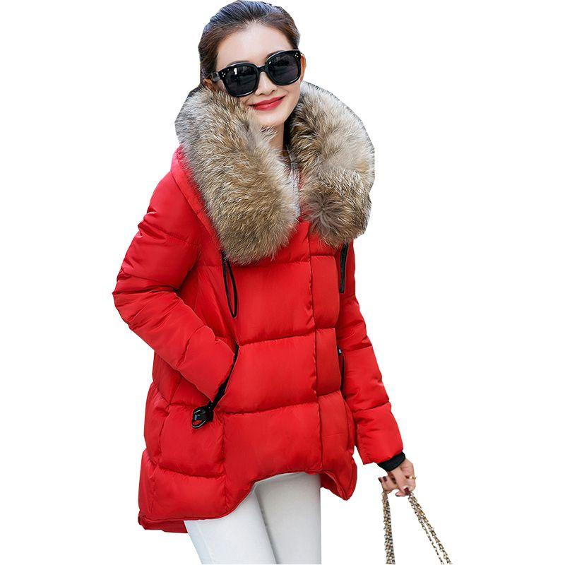 Compre 2018 Outono Inverno Novas Mulheres Casacos E Jaquetas De Inverno Gola  Curta Fino Casaco Quente Acolchoado Jaqueta De Algodão Vestidos De Roupas  YL209 ... 9135543aa145