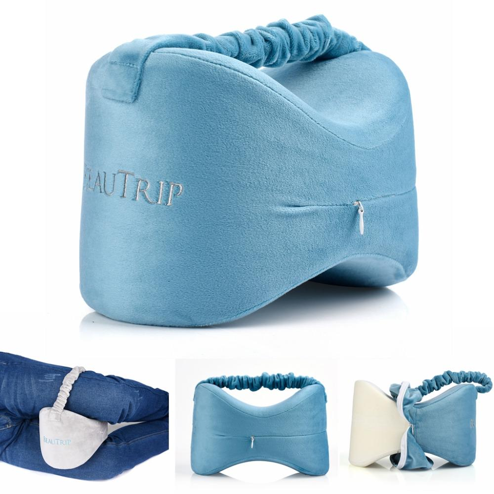 Side Sleeper Pillow Beautrip Memory Foam Knee Pillows For Joint Leg