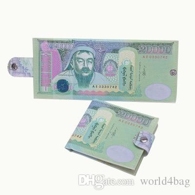 Acheter Impression De Piece De Monnaie Nationale Mode Creative Variete Porte Monnaie Dollar Dollar Rmb Livre Sterling Serie Personnalite Motif Toile