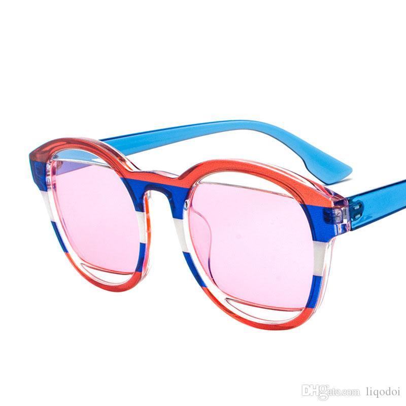 sonnenbrillen polarisierte Gläser Weibliche Große rahmen frauen ...