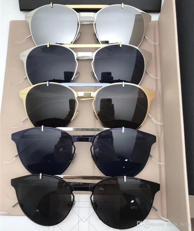 fe1186b1bf 2018 Lady Luxury Sunglasses Big Frame Shades Sunglass Fashion Polarized  Adumbral Eyewear Vintage Round Sunglass Classic Pilot Sunglasses Wholesale  ...