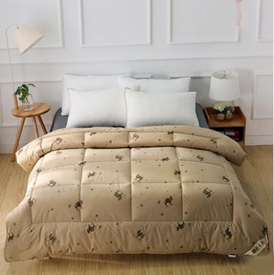 Funda Nordica Zebra.Winter Comforter 100 Camel Hair Quilted Blanket Twin Comforters