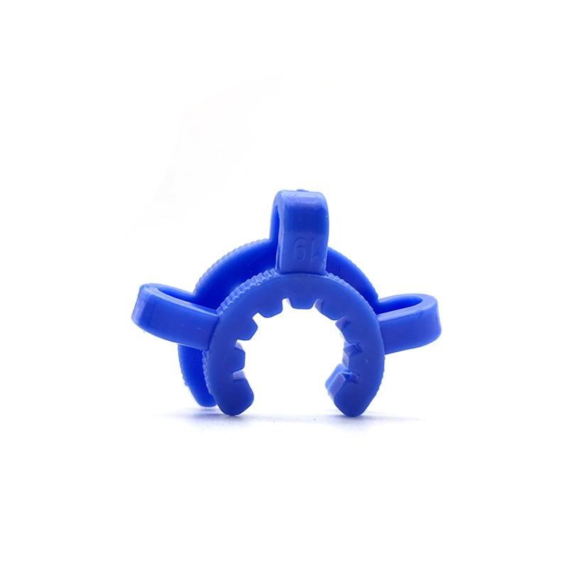 plastic keck clip 10mm 14mm 19mm Colorful joint for glass bong adapter water pipes manufacturer laboratory lab clamp clip connect