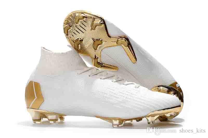 Compre Bolsa 2018 Nuevo Tacos Para Hombre Mercurial Superfly VI 360 Elite  Neymar Ronaldo FG CR7 Zapatos De Fútbol Chaussures Botas De Fútbol Tobillo  Alto A ... 8bcf8610b7901