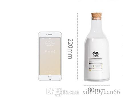 Die Milchflasche mit einer Nachricht Lampe Nachtlicht Schlaf Schlaf USB Nachricht Stift Bettlicht