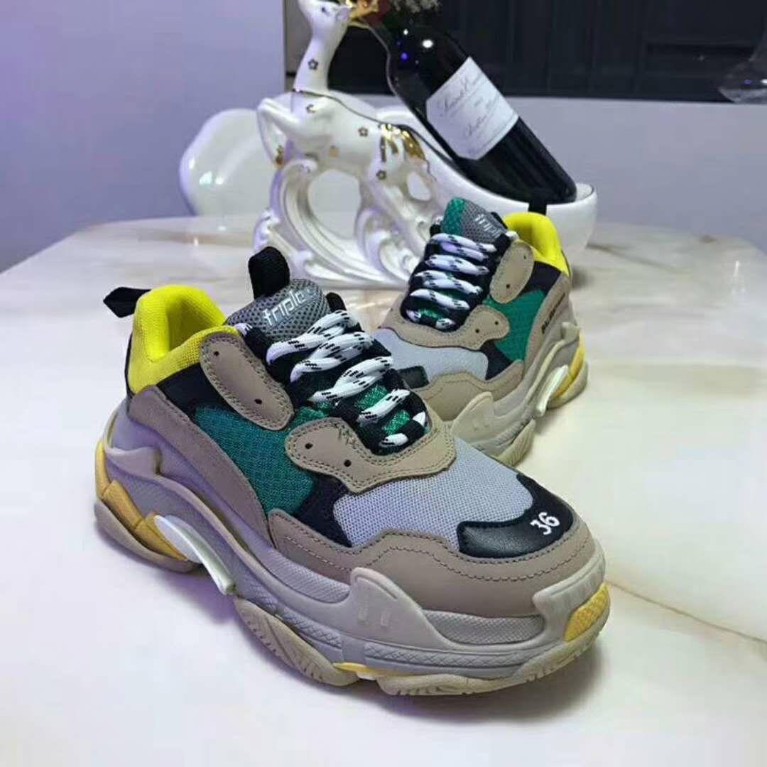 Genuine Fashion Quality Men's High Sneaker Shoes Leather Luxury KTlFc3u1J