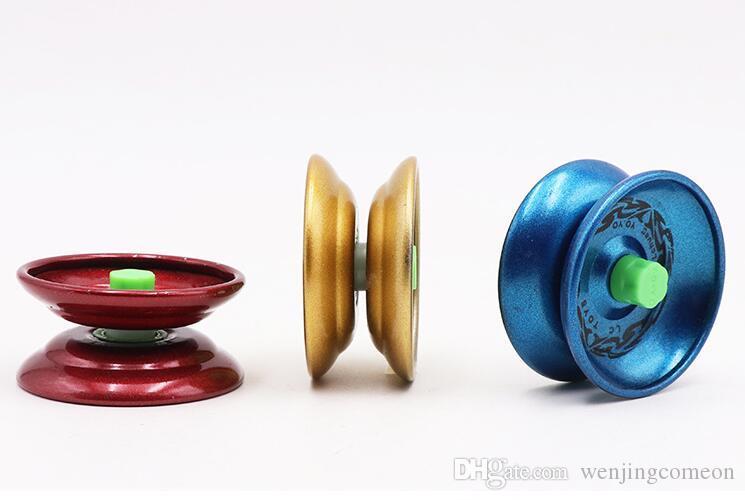 Металл Непоседа Spinner Металл Йойо Дизайн Высокая Скорость Профессиональный Йойо Шарикоподшипник Строка Трюк Йо - Йо Дети Магия Жонглирование Игрушка