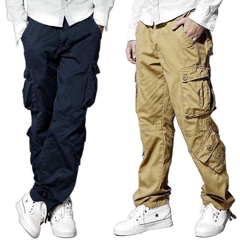 Acheter Pantalon Cargo Armée Tactique Hommes Et Femmes En Coton Pantalon  Ample Et Décontracté Hip Hop Joggers Pantalon Militaire Camouflage 8 Poches  De ... 721091feb2c