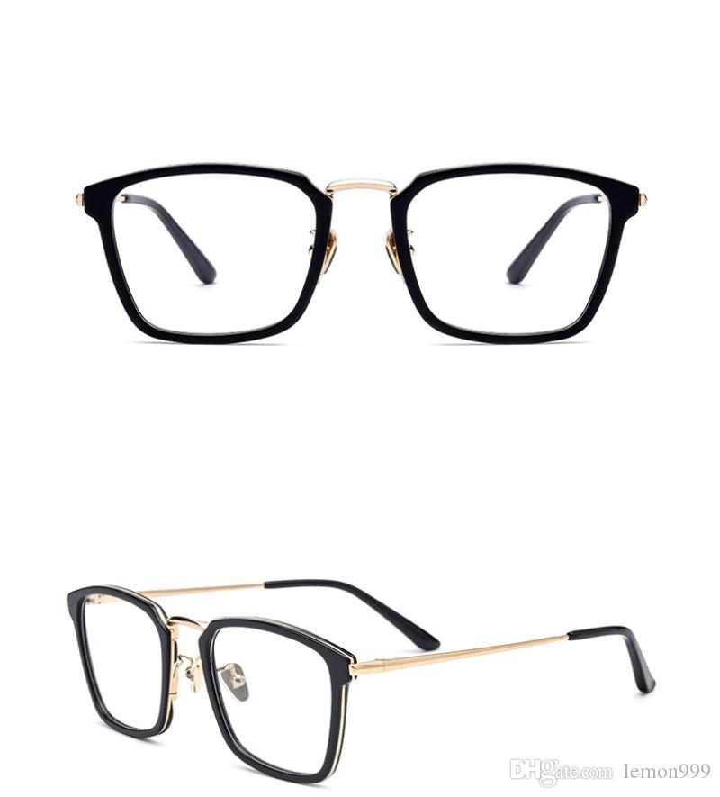 Compre Armações De Óculos De Marca Quadrado Mulheres Óculos Ópticos Quadro  Miopia Óculos Armações De Óculos Óculos De Leitura Óculos De Armação Com  Lente ... 6b0deaa992