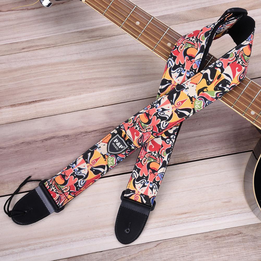Acheter Chaude 11 Types Coloré Ceinture Guitare Sangles Impression  Personnalisée Basse Guitare Électrique Haute Qualité Sangle Guitare  Accessoires De  24.93 ... 1b7974b4f04