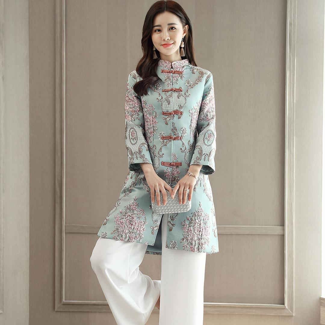 3d0da2fee68 2019 2018 Summer Vietnam Aodai Chinese Traditional Clothing For Woman Qipao Long  Chinese Oriental Dress Modern Cheongs From Dreamcloth