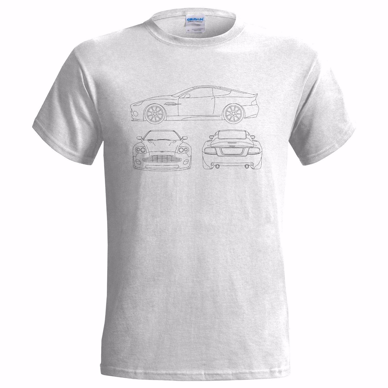 unofficial tech drawing aston martin vanquish v12 mens t shirt