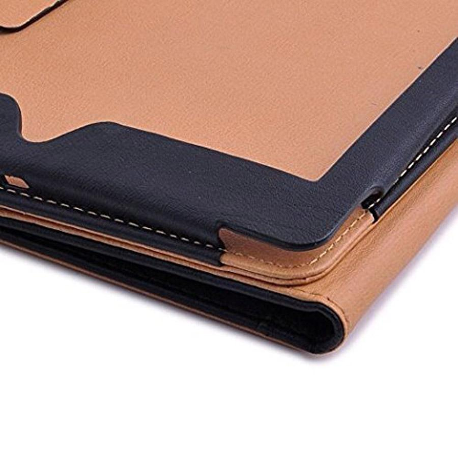 "for New iPad 2017 9.7"" PU Leather Case Smart Cover Stand Cases with Card Slots Pocket for ipad Air Mini 3 4"