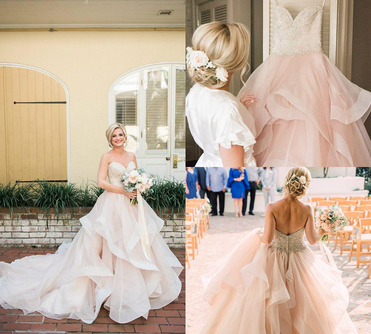 Discount 2018 Modest Country Wedding Dresses Sweetheart Beaded Ruffles Rhinestones Blush Boho Dress Sweep Train Plus Size Beach Bridal Gowns: Ruffled Country Wedding Dresses At Websimilar.org