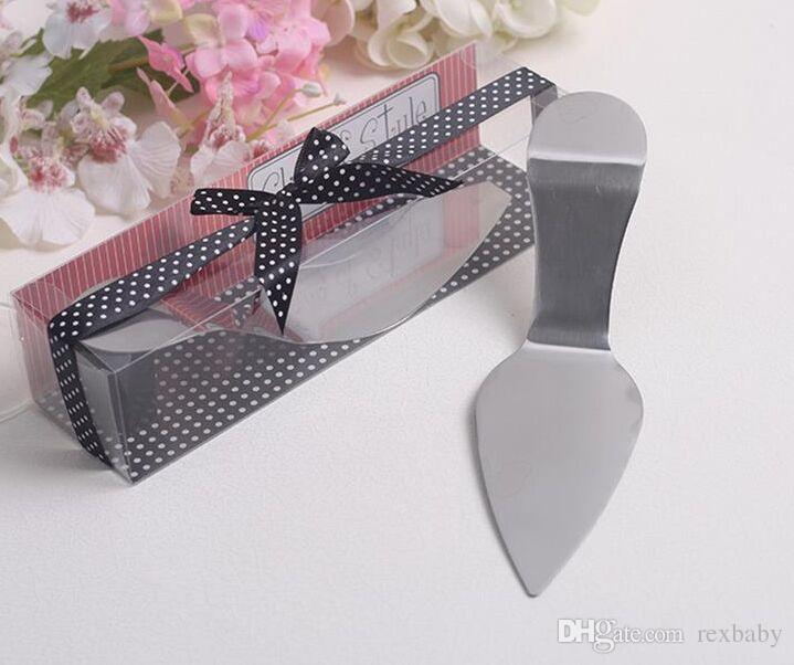 Bridal Shower Favors and Gift Serve Up Some Style!Stainless Steel High Heel Cake Server Wedding Favor