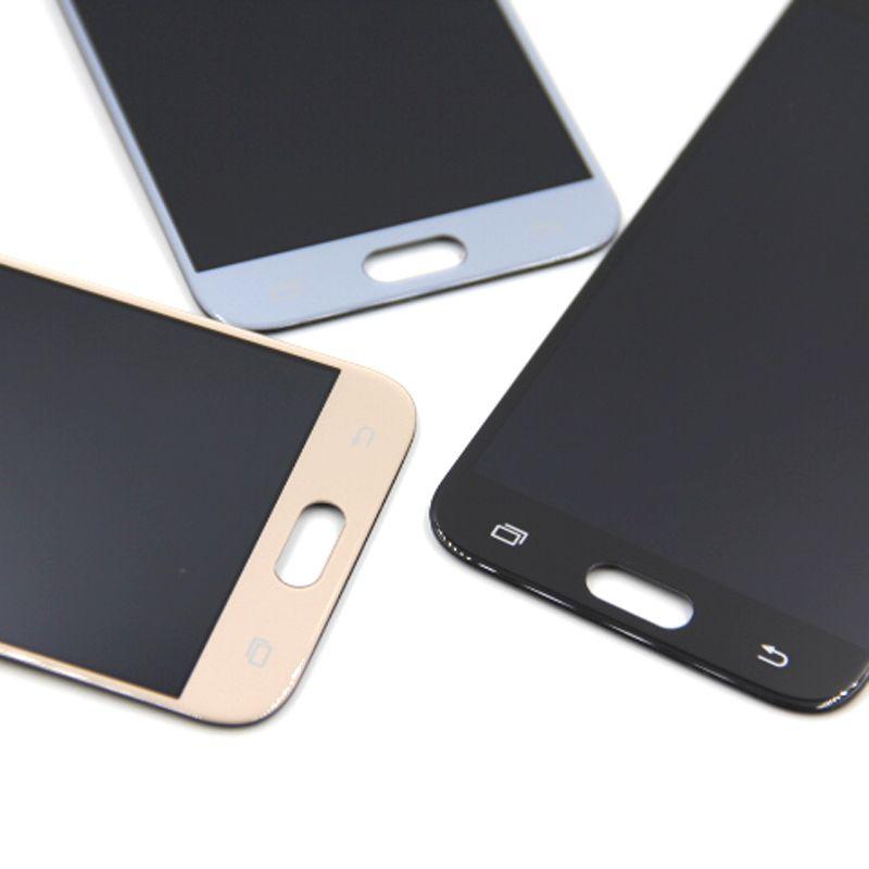 100% ORIGINAL Súper LCD AMOLED para Samsung Galaxy J3 2017 J330 Pantalla LCD Asamblea Digitalizador de pantalla táctil envío gratis