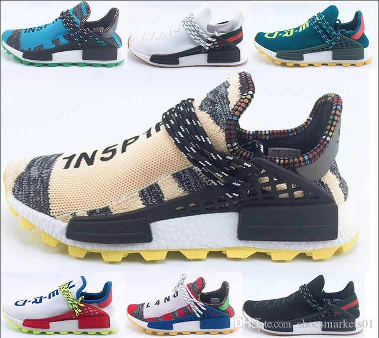 5a392620c Men Women Casual Shoes PW NERD NMD Human Race Hu Pharrell Williams ...
