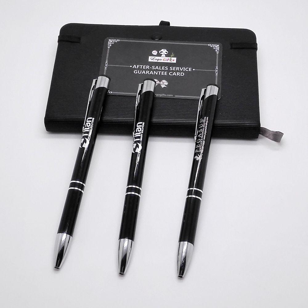 Traditional Wedding Anniversary Gifts Corlor Ball Pens Custom