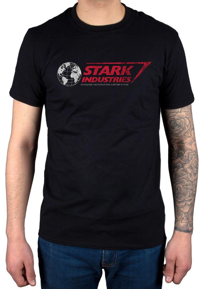 Grosshandel Official Marvel Comics Stark Industries T Shirt Die Welt