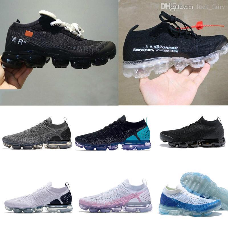 ff932a78 Compre 2018 Nuevo Vapor De Alta Calidad 2.0 X Blanco Calzado De Running  Para Hombre De Diseñador, Para Hombres Zapatillas De Deporte Informales, ...