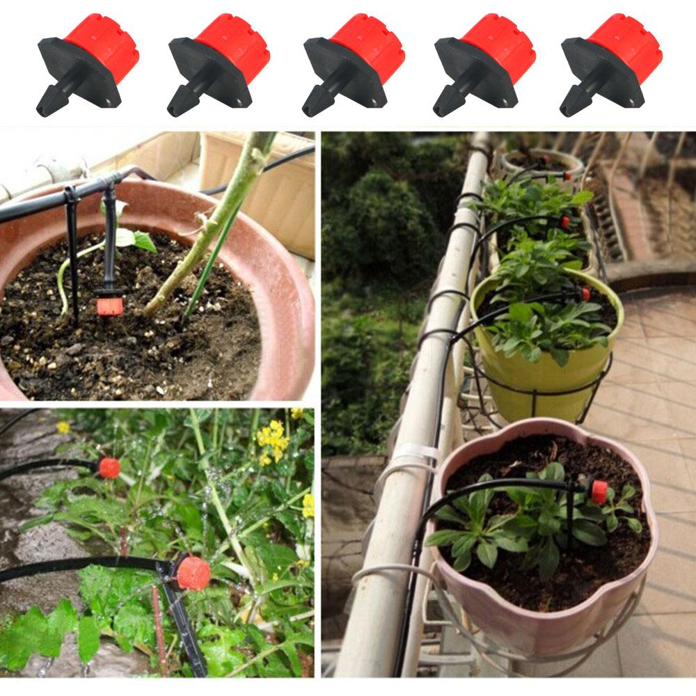 2018 micro drip irrigation system 1/4 hose barb irrigation watering