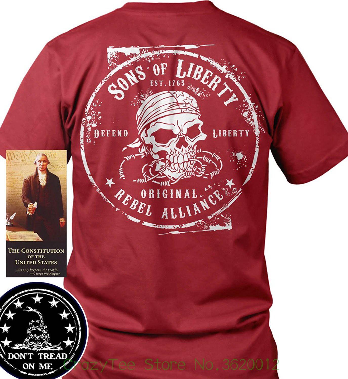 3c5cec662 T Shirt Men Tees Brand Clothing Funny Sons Of Libery Original Rebel  Alliance T Shirt. Made In Usa T Shirts And Shirts On T Shirts From  Crazyteestore, ...