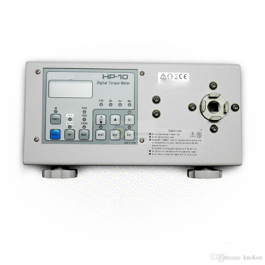 KNOKOO vendita calda nuova versione digitale cacciavite Torque Meter HP-100 misura chiave del tester grande display interruttore a membrana