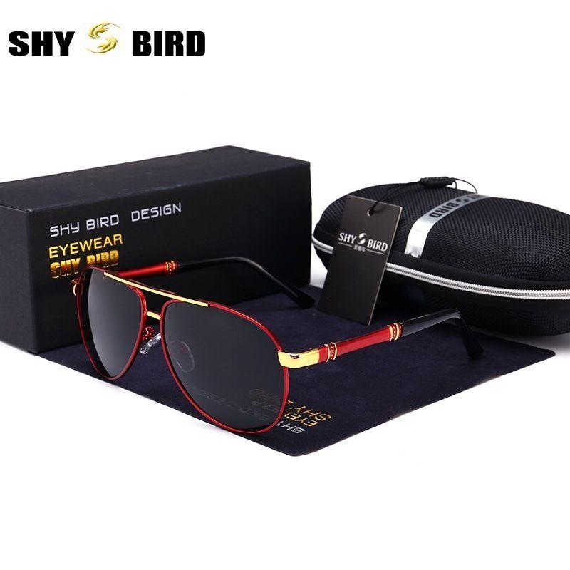 590145d12011 SHYBIRD New Fashion Vintage Men Polarized Sunglasses Brand Designer ...
