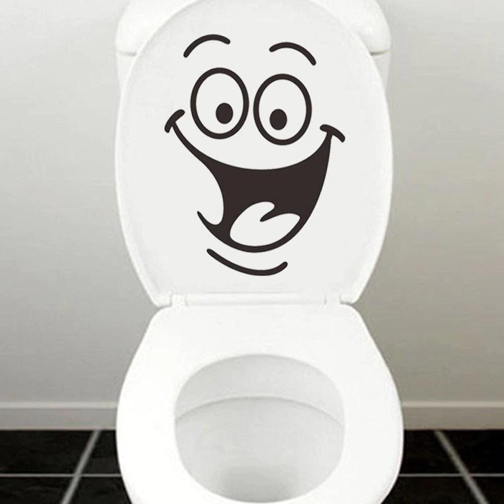 Großhandel Heißer Verkauf Smiley Face Lustige Toilette Badezimmer