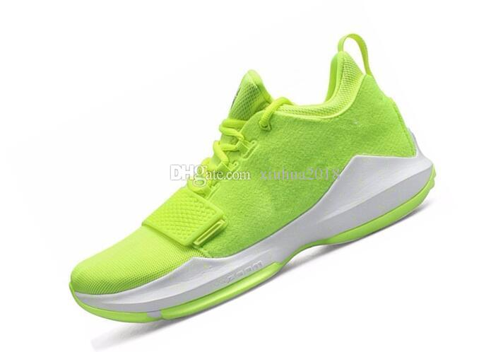 fe61aa4b5fbe 2017 New Arrival Paul George PG1 Ferocity Glacier Grey Shining Men  s  Casual Shoes Basketball Shoes PG 1 Top quality Sports SHOES 40-46