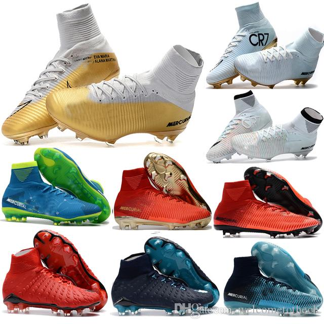 clearance best Cheap 100% Original Quality Mercurial Superfly FG CR7 Kids Soccer Shoes Womens Girls Magista Obra Outdoor Football Boots Hypervenom Cleats clearance fashion Style sale countdown package store with big discount free shipping classic unEoUBAU5g